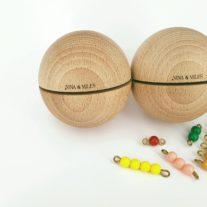 boules sonores perles Montessori